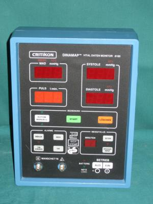 CRITIKON Dinamap 8100 Vital Daten Monitor, Messung und..